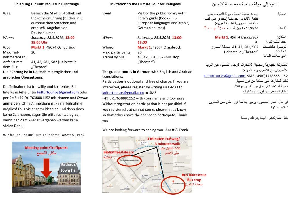 Microsoft Word - Einladung zur Kulturtour für Flüchtlinge_Bibo